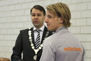 Op de foto met Epke Zonderland