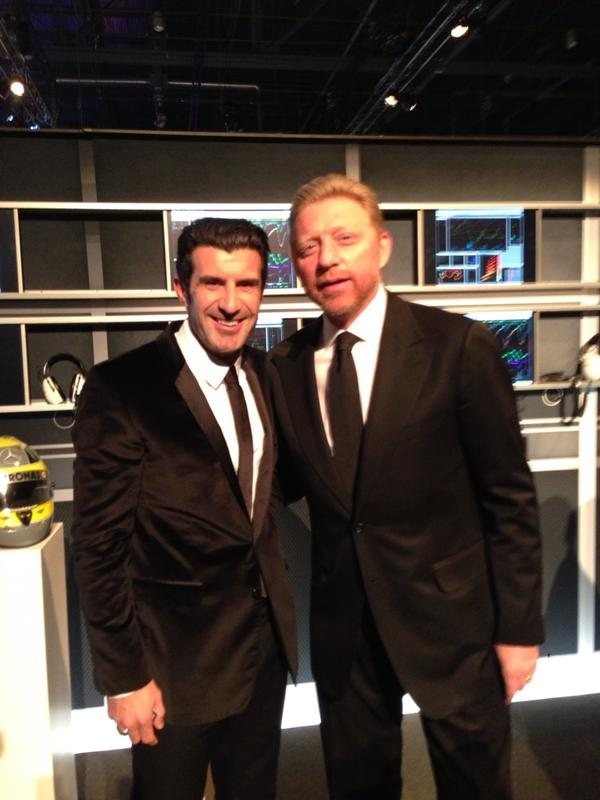 'We love Figo!' (Foto: @TheBorisBecker)