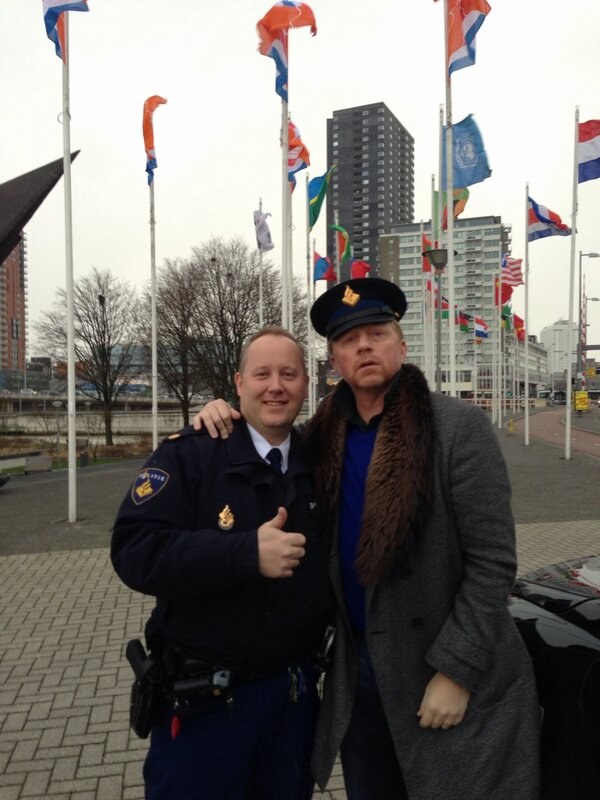 "'I was in ""safe hands"" in Rotterdam' (Foto: @TheBorisBecker)"