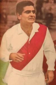 Luis Cubilla in het shirt van River Plate