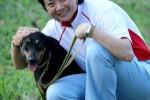 Lee Bah Wah (rechts) met Xiao Hei