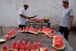 Watermeloenenslachterij