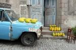 Gele meloenen