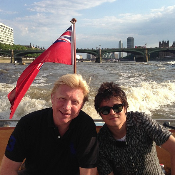Vlnr: Boris, Jamie Cullum