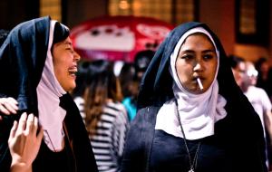 Nonnen in Singapore (foto: froisnadu)
