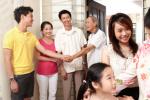 Blijdschap om voucher in Singapore