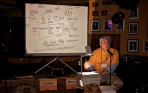 Presentatie van resultaten van een representatief onderzoek (foto: Josh Oakes)