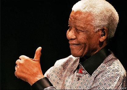 Nelson Mandela (via @bbc)