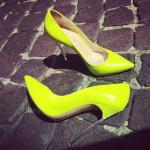De schoenen van de Kanarie 500-ambassadeur (Foto: instagram.com/vkoblenko)