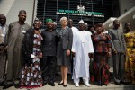 Het Huis van Afgevaardigden van Nigeria in betere tijden
