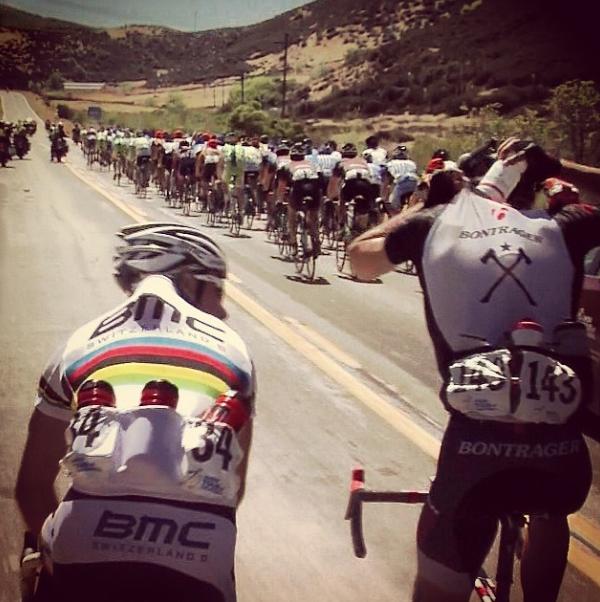 Startnummer 34 in de Ronde van Californië