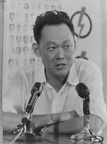 Lee Kuan Yew in 1965 (Foto: Nationaal Archief / Keystone)