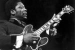 B.B. King met zijn gitaar Lucille, in 1974 (Foto: AKN)