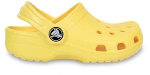 De gele Crocs van Al Broussard.